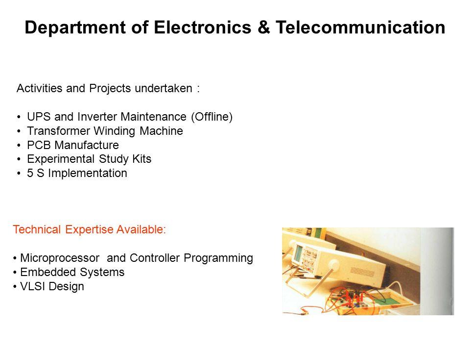 Department of Electronics & Telecommunication