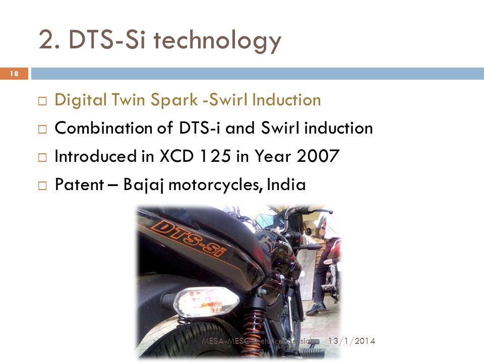 2. DTS-Si technology Digital Twin Spark -Swirl Induction