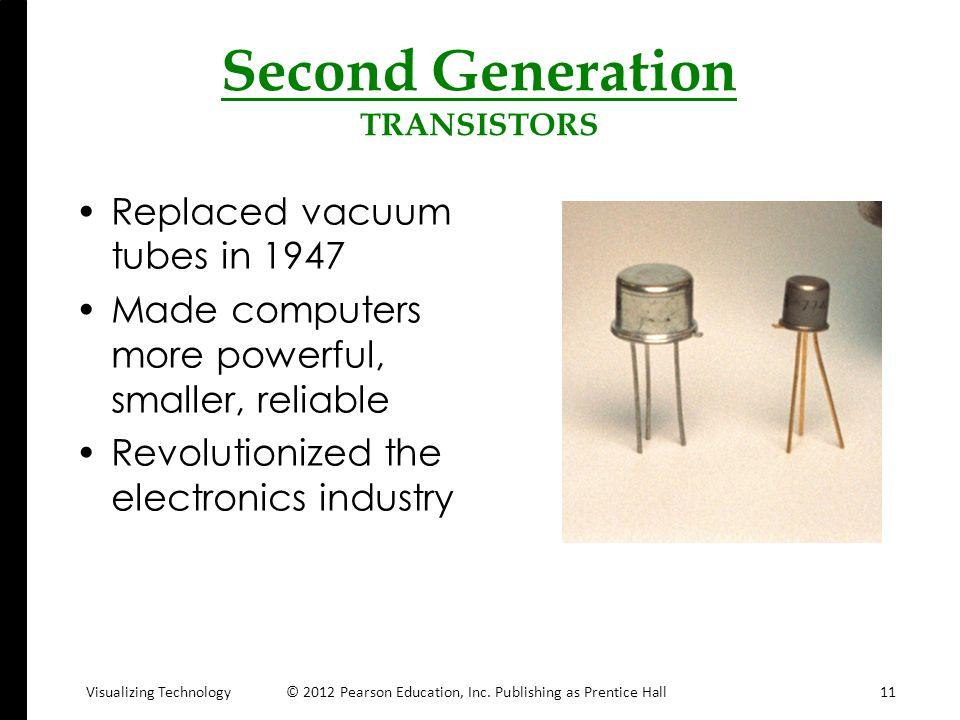 Second Generation TRANSISTORS