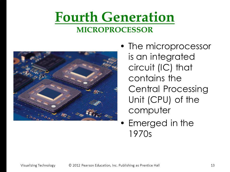 Fourth Generation MICROPROCESSOR