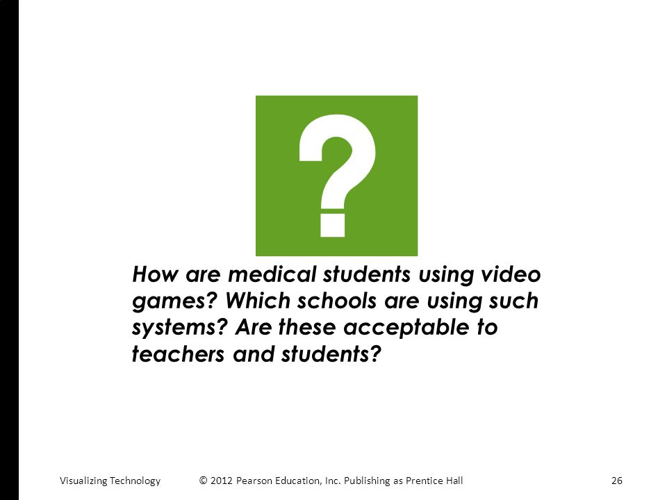 How are medical students using video games