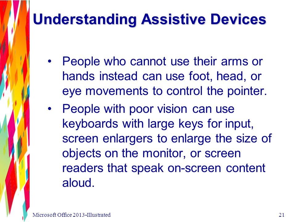 Understanding Assistive Devices