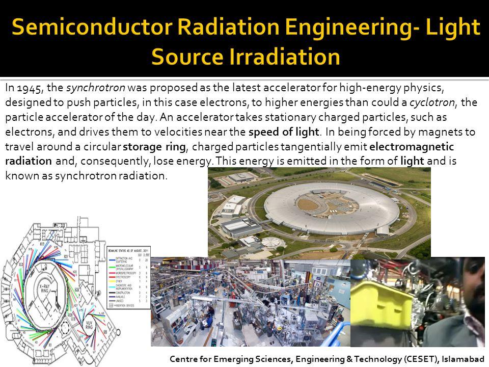 Semiconductor Radiation Engineering- Light Source Irradiation