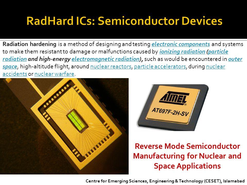 RadHard ICs: Semiconductor Devices
