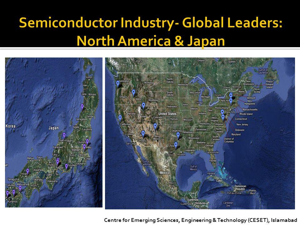 Semiconductor Industry- Global Leaders: North America & Japan