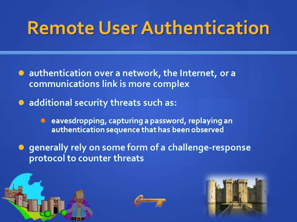 Remote User Authentication