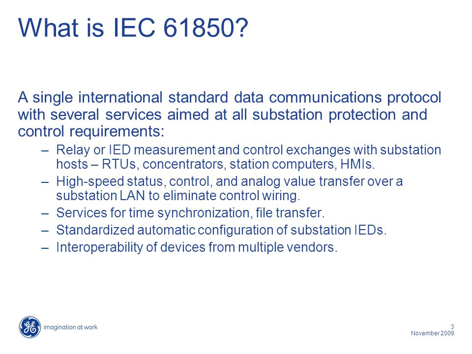 What is IEC 61850