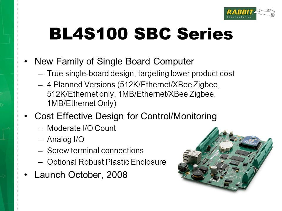 BL4S100 SBC Series New Family of Single Board Computer