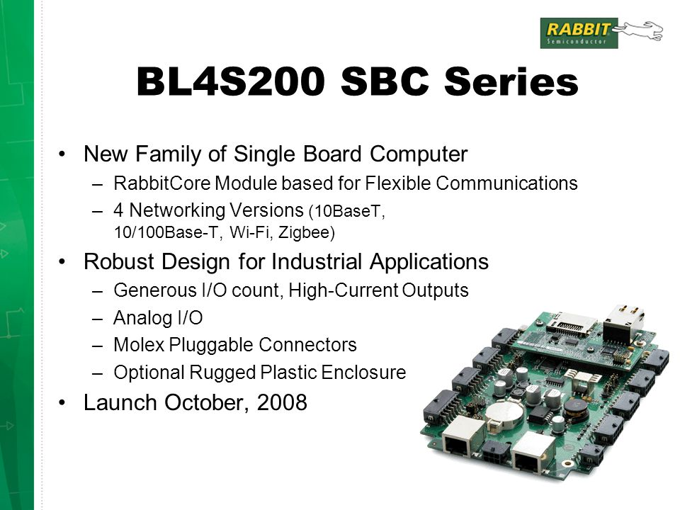 BL4S200 SBC Series New Family of Single Board Computer