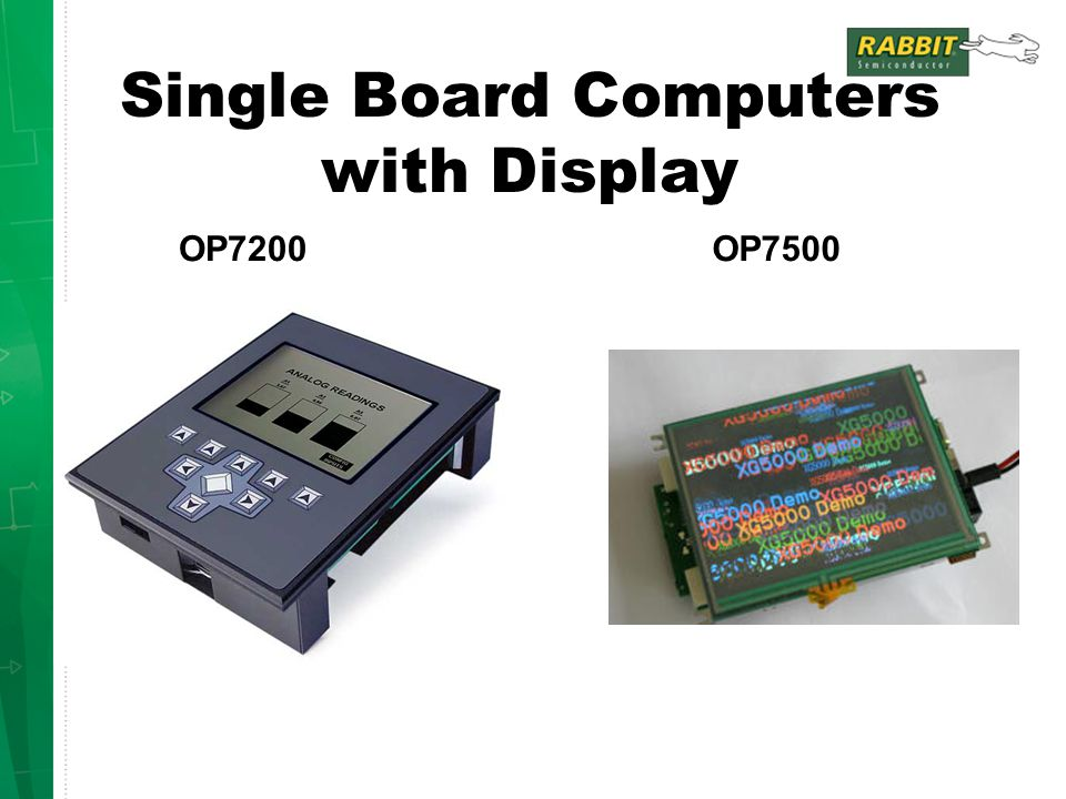 Single Board Computers with Display