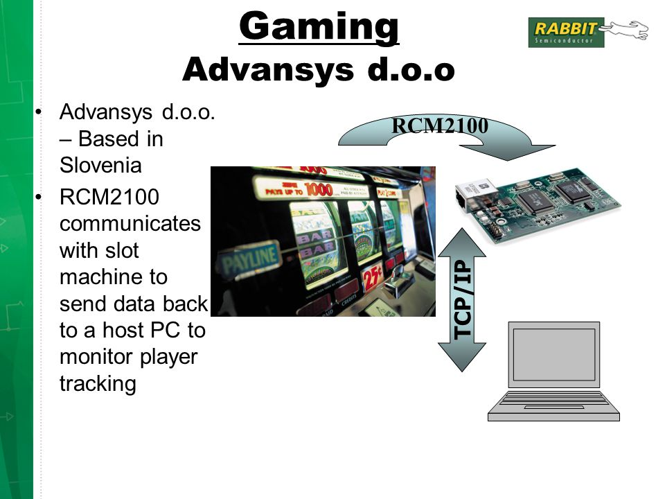 Gaming Advansys d.o.o Advansys d.o.o. – Based in Slovenia RCM2100