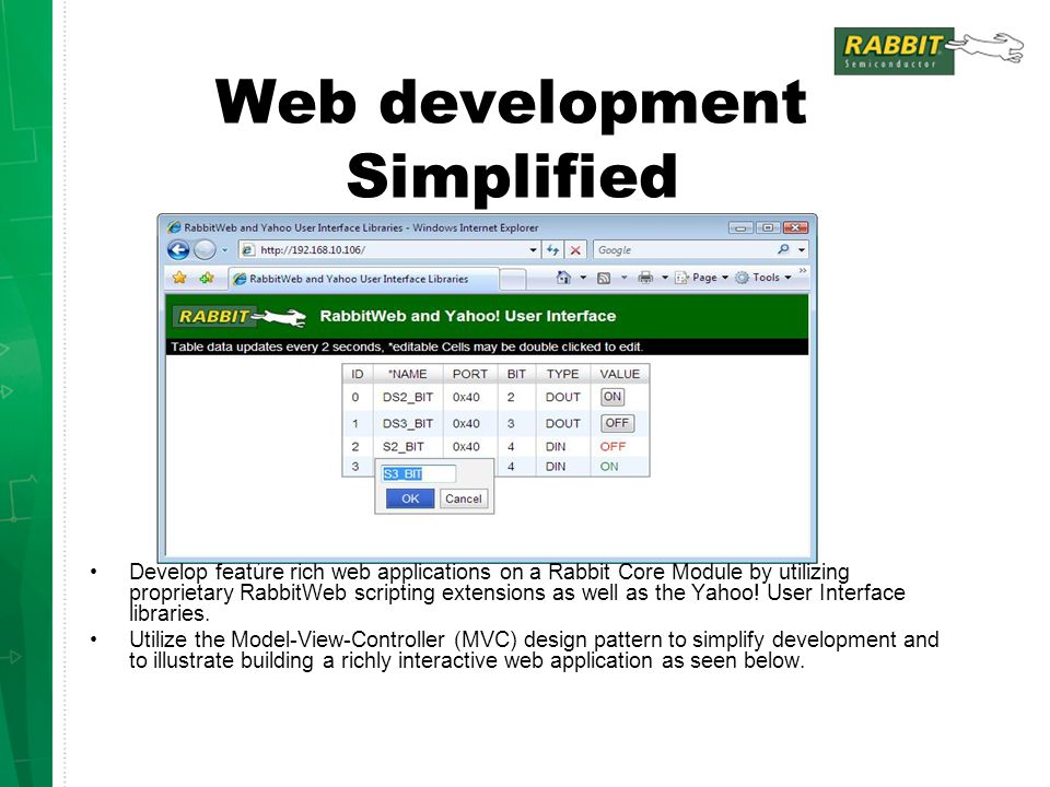 Web development Simplified