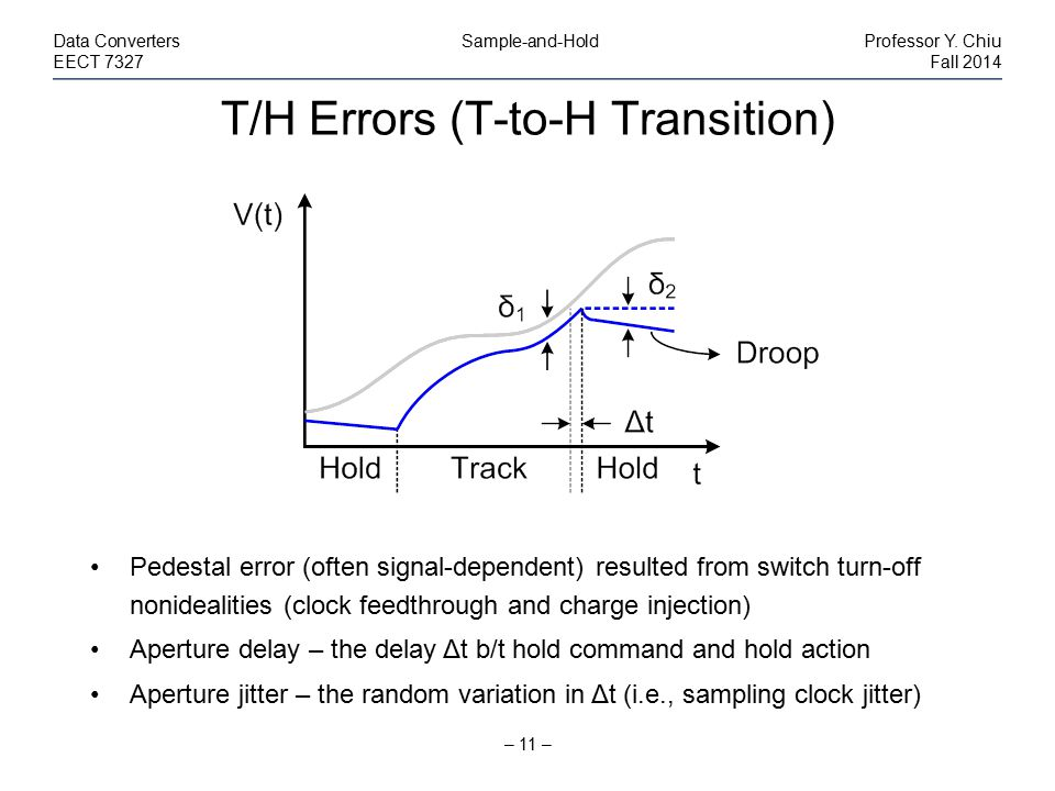 T/H Errors (T-to-H Transition)
