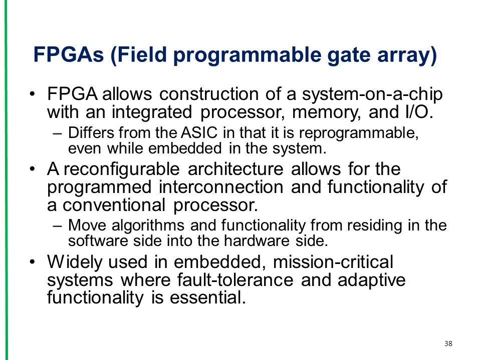 FPGAs (Field programmable gate array)