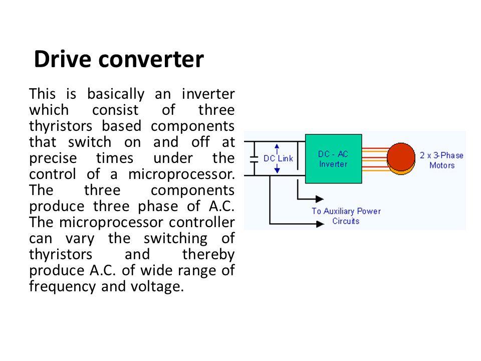 Drive converter