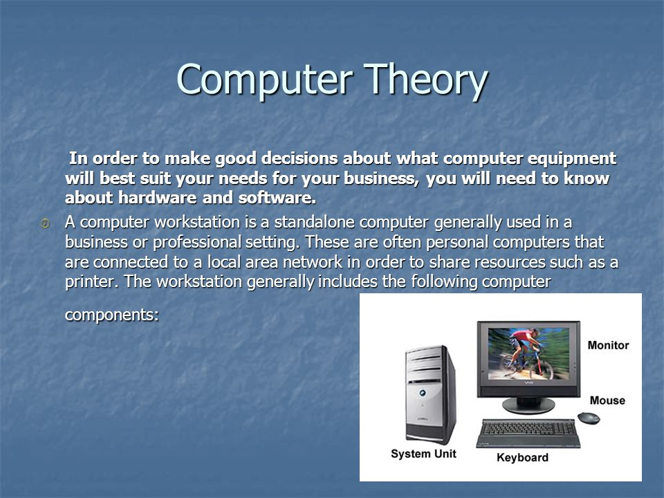 Computer Theory