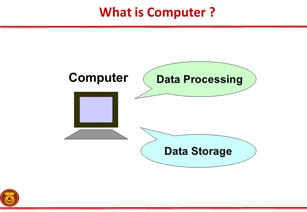 What is Computer Data Processing Computer Data Storage