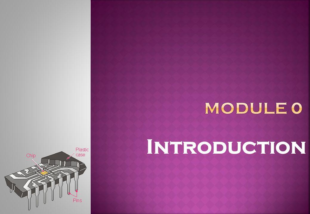 Introduction Module 0 Objektif: Komponen-komponen komputer