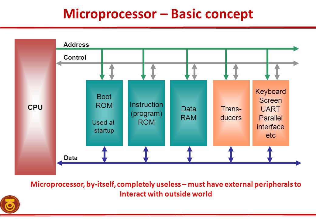 Microprocessor – Basic concept
