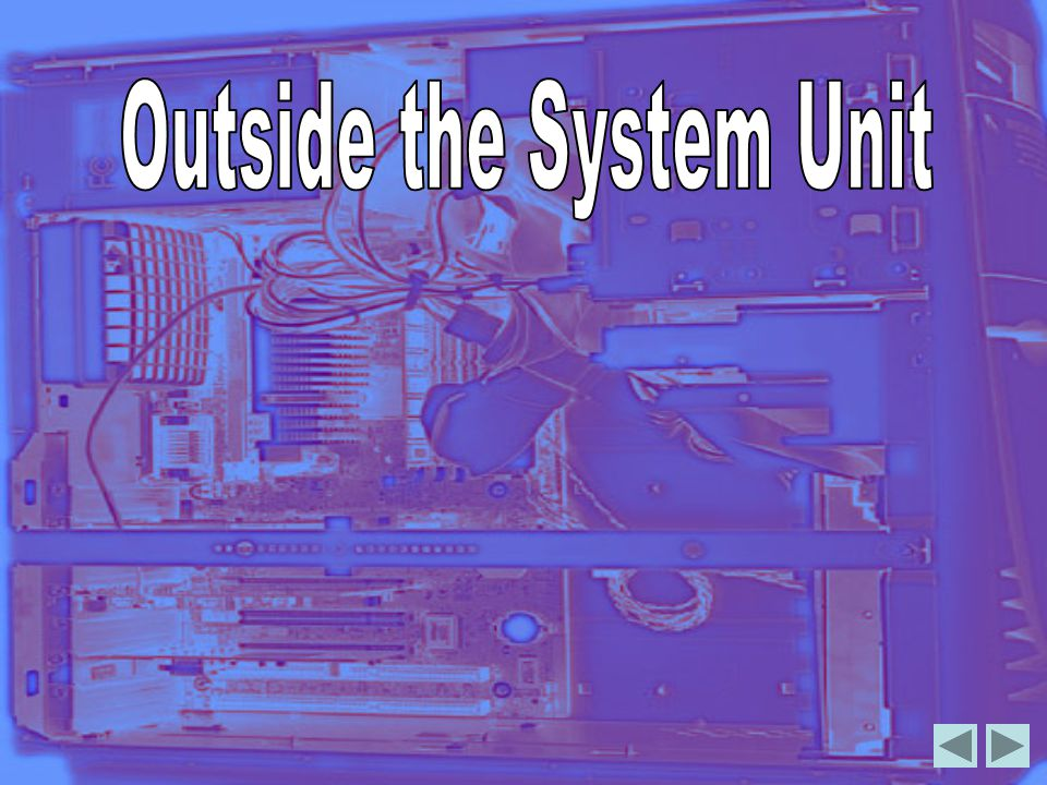 Outside the System Unit