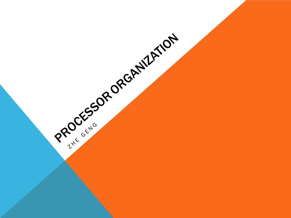 Processor organization