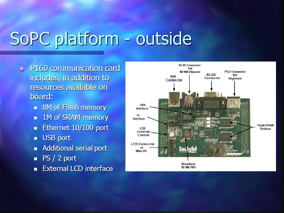 SoPC platform - outside