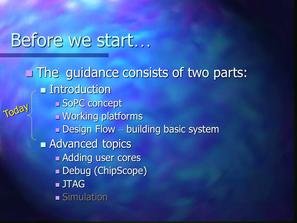 Before we start… The guidance consists of two parts: Introduction