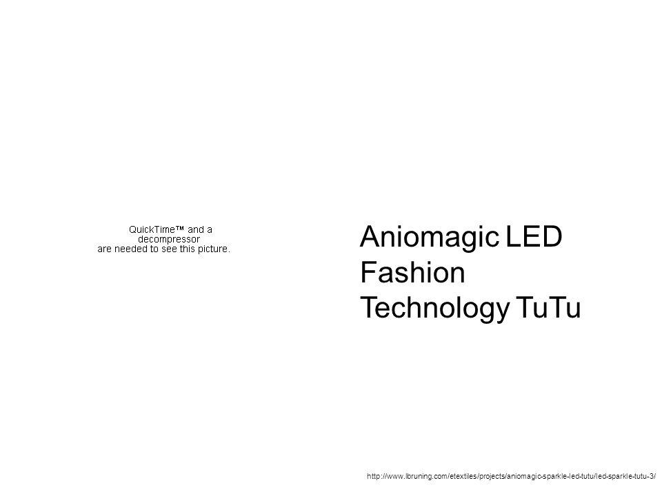 Finding Lynne Bruning Aniomagic LED Fashion Technology TuTu