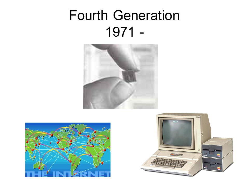 Fourth Generation 1971 -