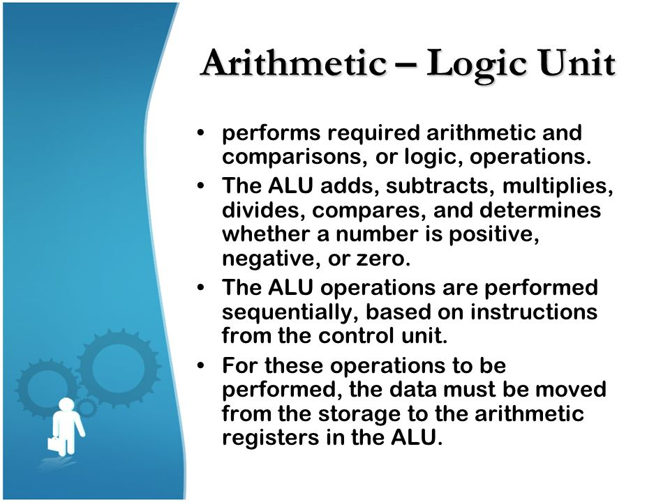 Arithmetic – Logic Unit