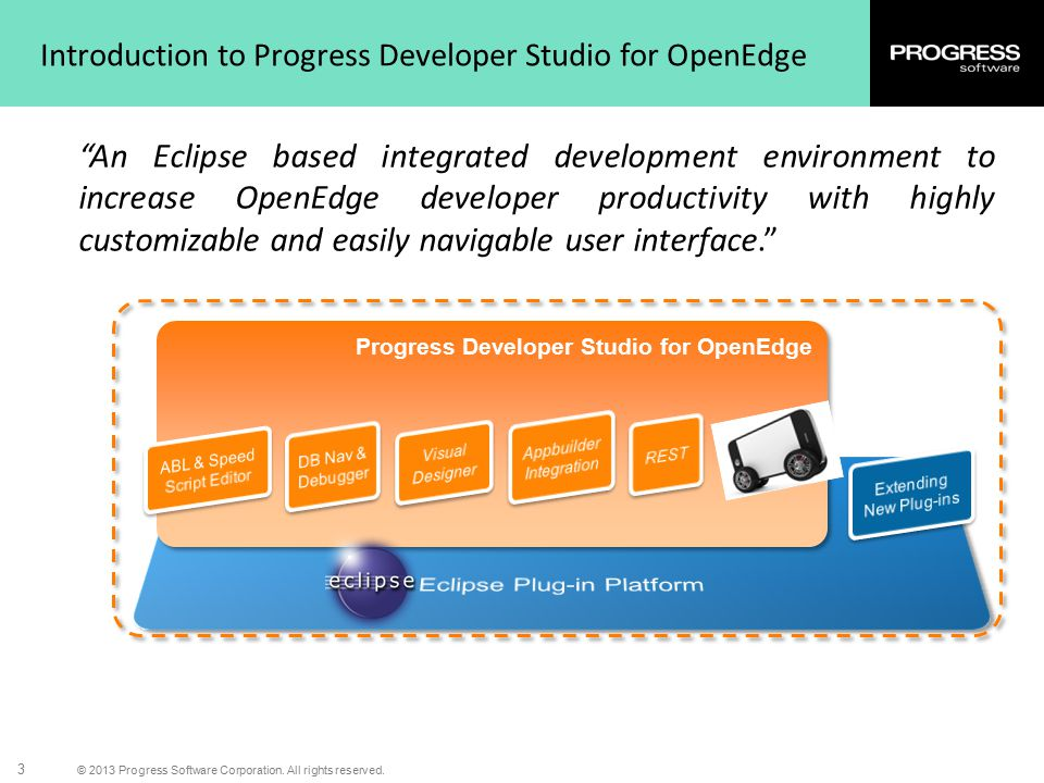 Introduction to Progress Developer Studio for OpenEdge