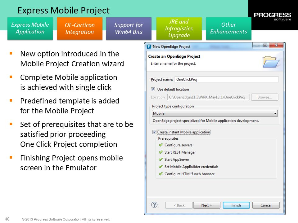 Express Mobile Project