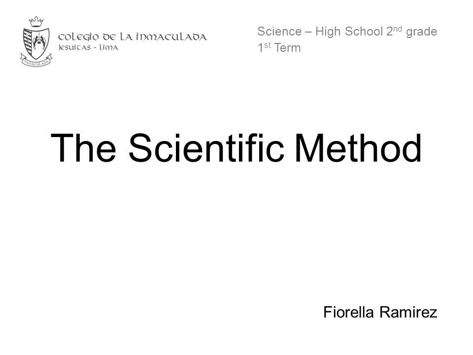 Science – High School 2nd grade 1st Term