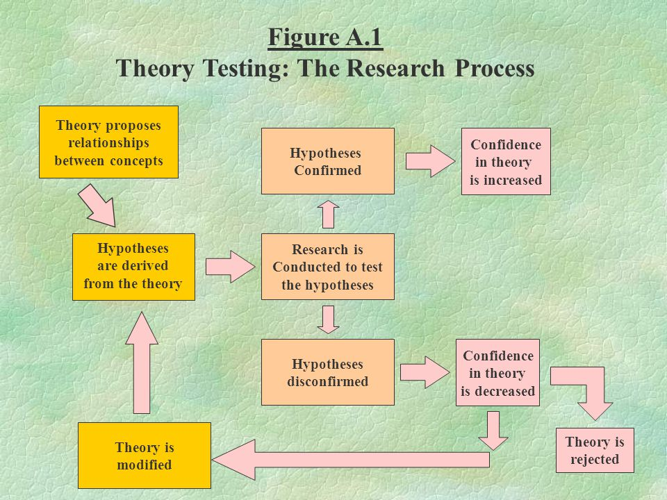 Theory Testing: The Research Process