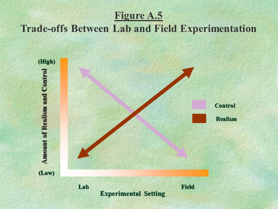 Figure A.5 Trade-offs Between Lab and Field Experimentation