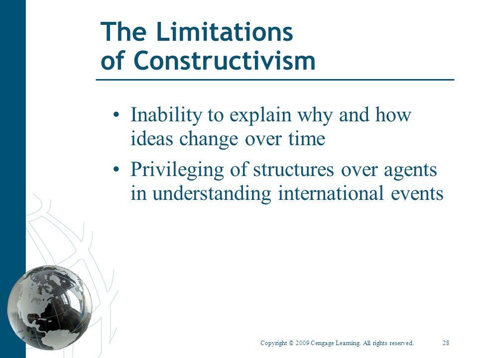 The Limitations of Constructivism