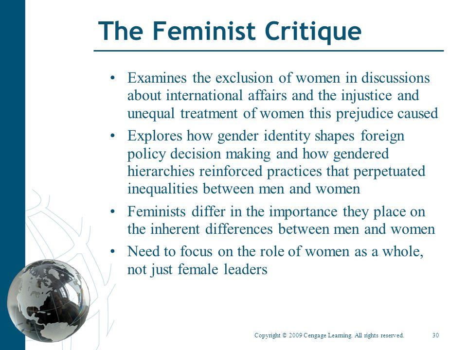 The Feminist Critique