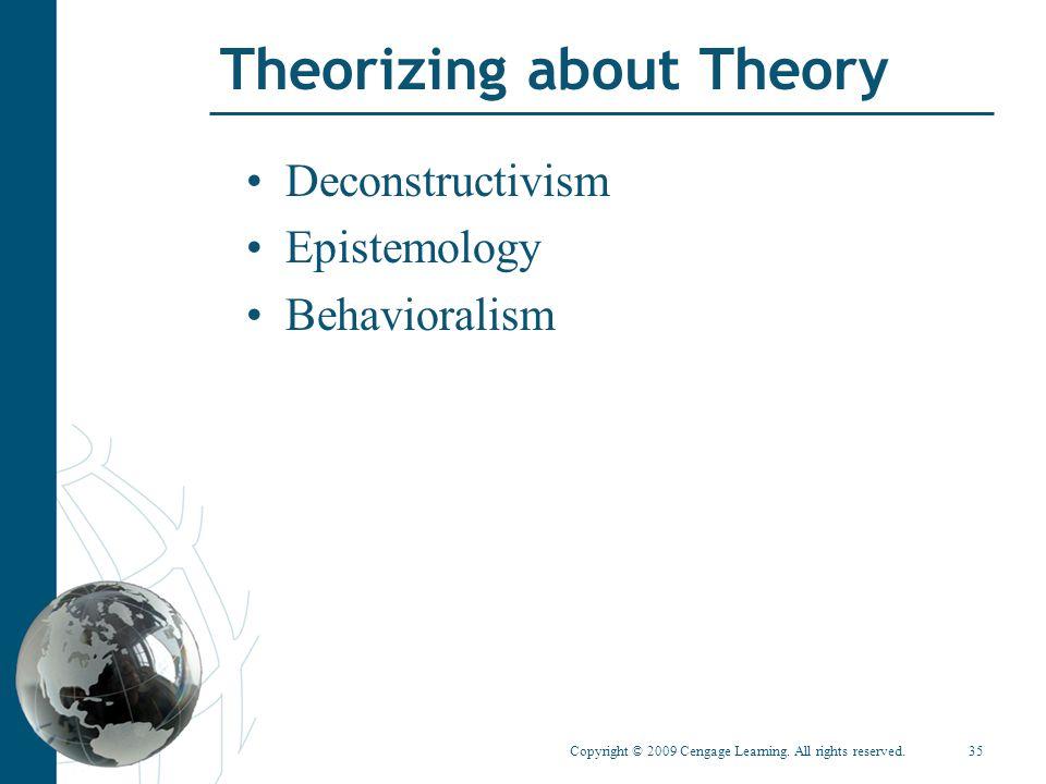 Theorizing about Theory