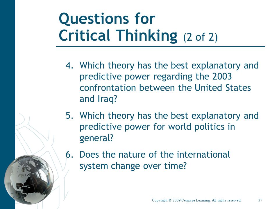critical thinking learning theory Critical thinking: a literature review  in theory all people can be taught to think critically  critical thinking as one of several learning and innovation .