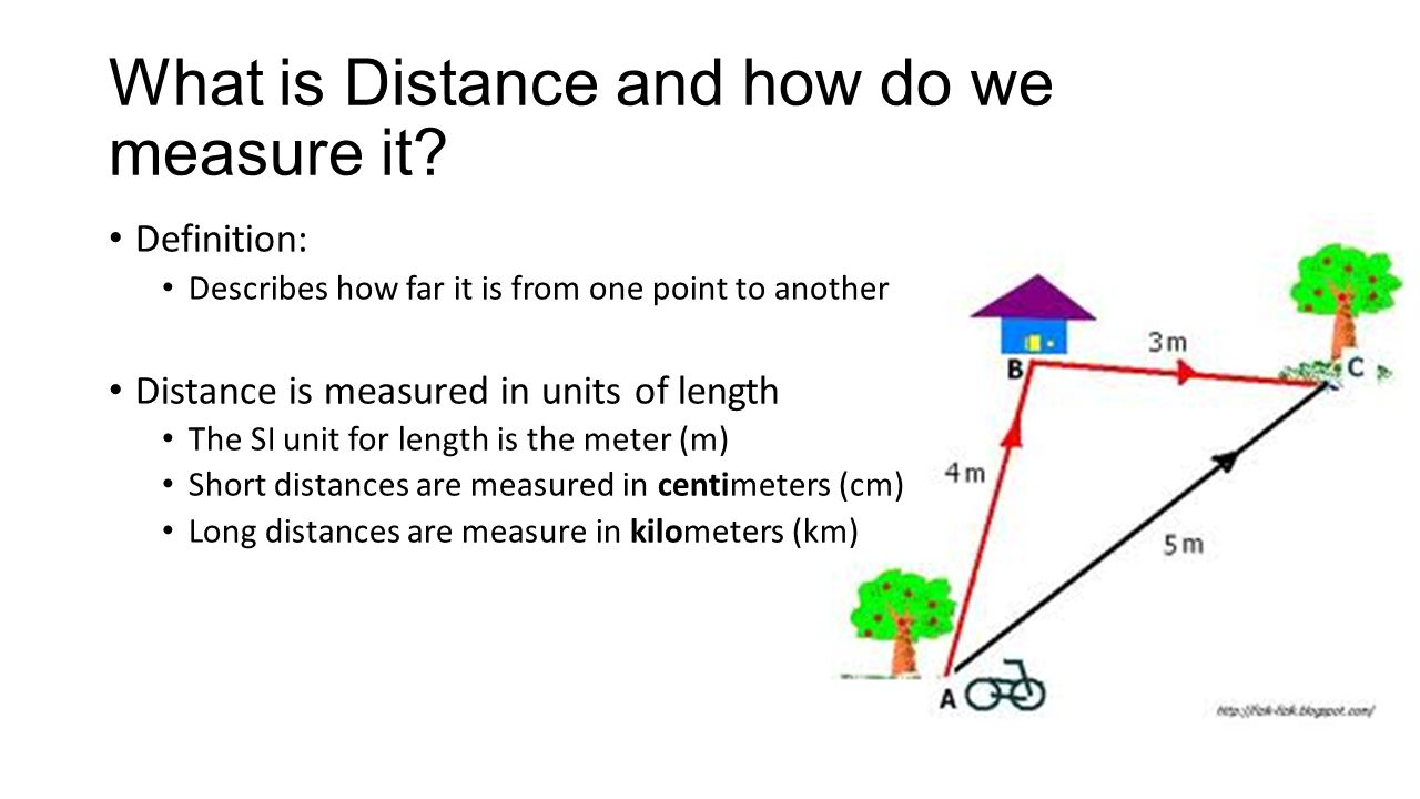 What is Distance and how do we measure it