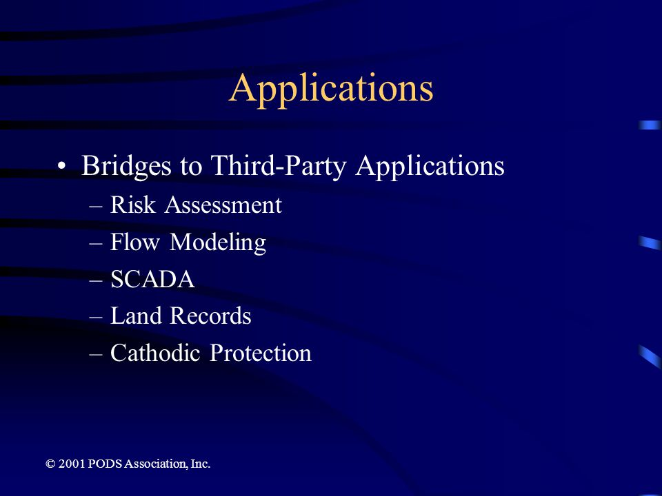 Applications Bridges to Third-Party Applications Risk Assessment