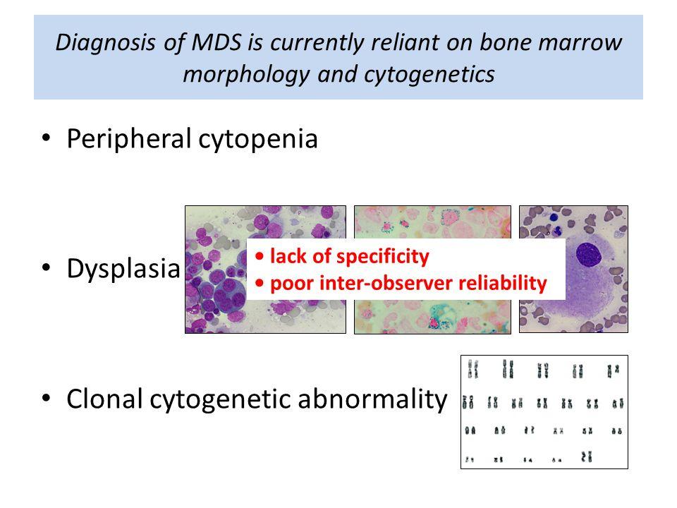 Clonal cytogenetic abnormality
