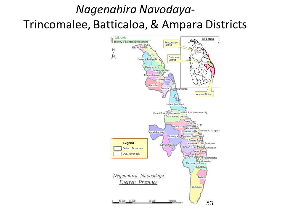 Nagenahira Navodaya- Trincomalee, Batticaloa, & Ampara Districts