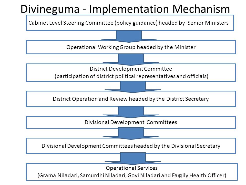 Divineguma - Implementation Mechanism