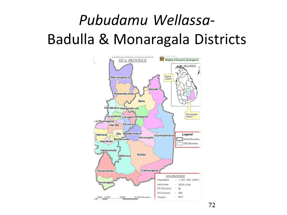Pubudamu Wellassa- Badulla & Monaragala Districts