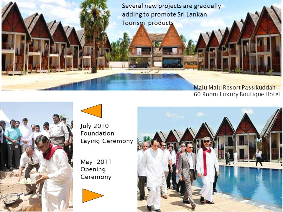 8989 Several new projects are gradually adding to promote Sri Lankan Tourism products.