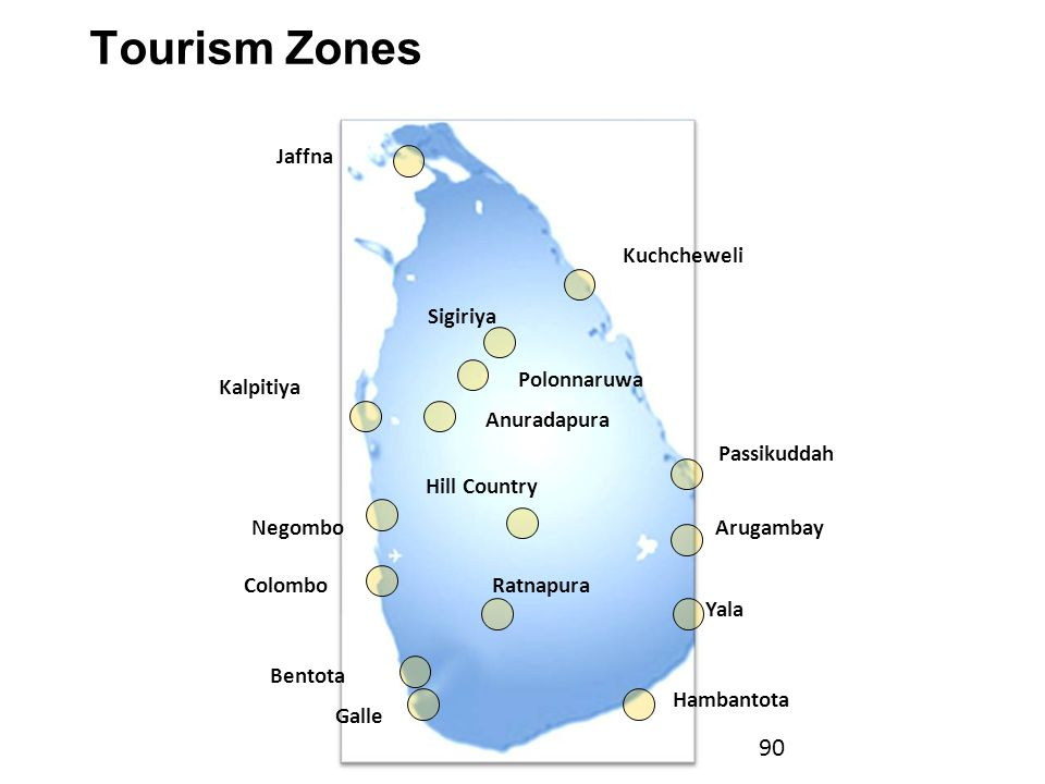 Tourism Zones Tourism Zones