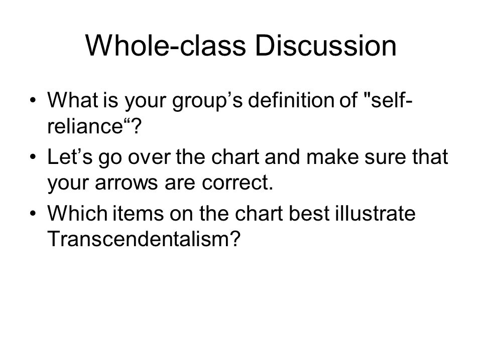 Whole-class Discussion