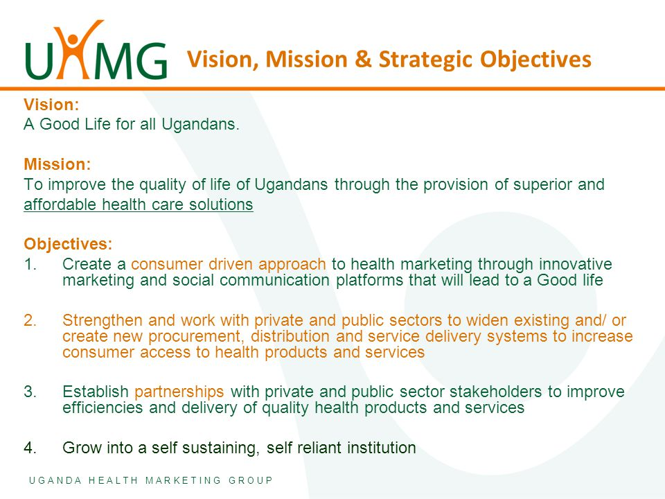 Overview An offspring of AFFORD a 5 year USAID funded health marketing initiative.
