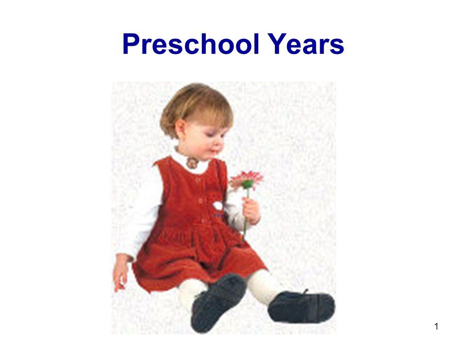 Preschool Years